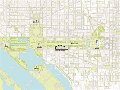 washington dc map smithsonian gallery of big reveals 20 year restoration plan for