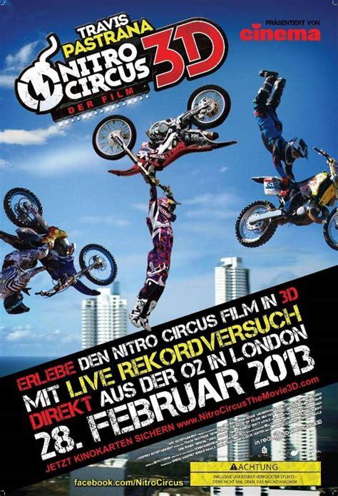 Motorrad Filme Action by Nitro Circus Der Film 3d Unglaubliche Motorrad Action