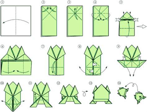 Origami Jumping Rabbit -