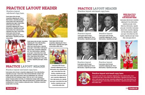 yearbook layout practice now what creating yearbook templates like a pro pictavo