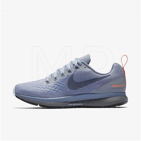 Nike Zoom Vegasus Size 39 43 Sepatu Pria Olahraga Sport Lari Hitam shoes nike air zoom pegasus 34 shield 907328 002 blue price 177 00