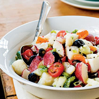 light and fresh potato salad recipe myrecipes