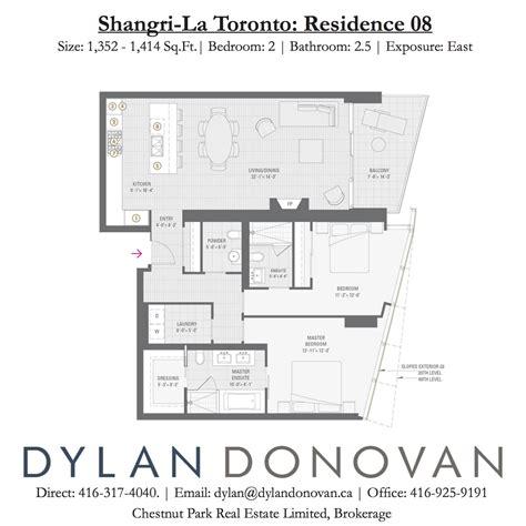 floor plan la shangri la toronto floor plans dylan donovan