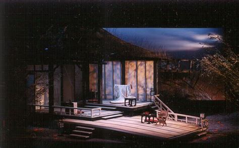 madame butterfly set scenery rental utah opera