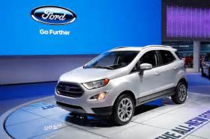 new model 2017 ford ecosport previewed in all new us model autocar