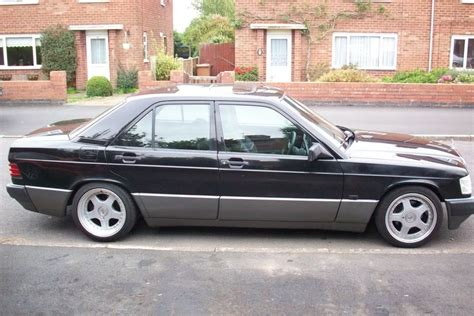 Topi Mercedest 190e low stance black driftworks forum