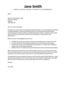 Device Sales Representative Cover Letter by Sales Cover Letter