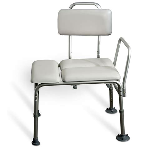 aquasense transfer bench amg medical aquasense 174 padded bathtub transfer bench