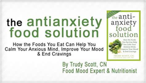 Pdf Anti Anxiety Food Solution Trudy by The Anti Anxiety Food Solution By Trudy Cn