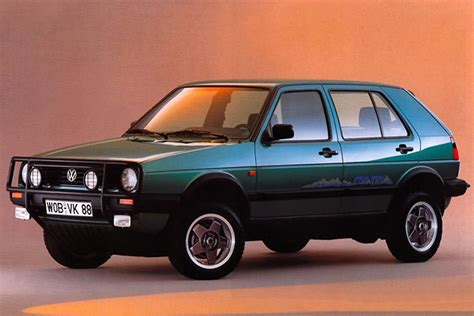 country volkswagen vw golf country syncro before crossovers were cool