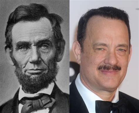 abraham lincoln tom hanks family tree you ll never guess who is related