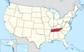 us map tennessee tennessee