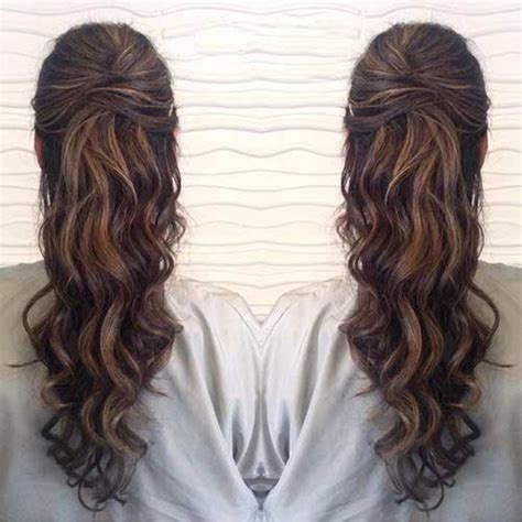 Half Up Half Prom Hairstyles by Prom Hairstyles For Hair Half Up Half Www