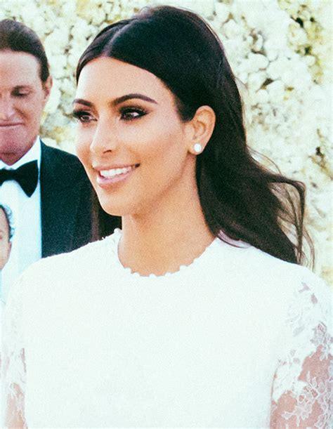 Kim K Wedding Hair   how to get kim kardashian s wedding hair hair extensions