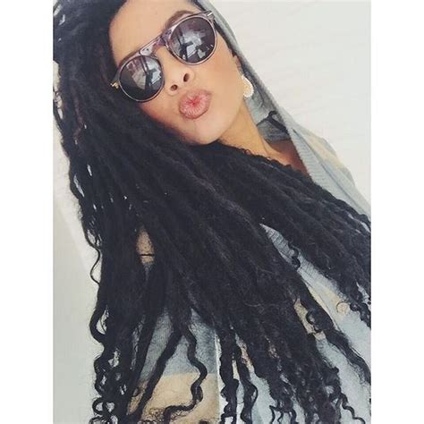 faux locs with human hair goddess faux loc extensions full set human hair 100 locs