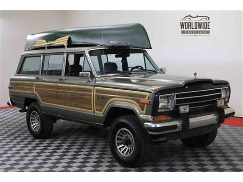 Grand Wagoneer For Sale by 1987 Jeep Grand Wagoneer For Sale Classiccars Cc