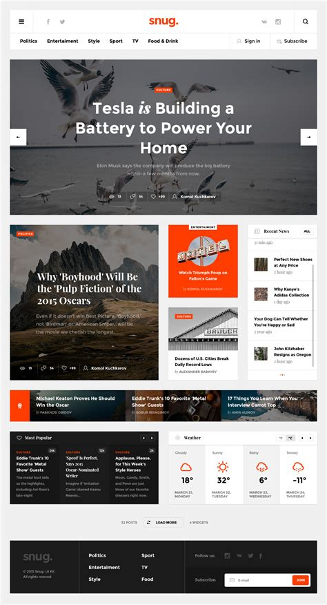 news portal website template free psd download download psd creative blog website template psd freebie download