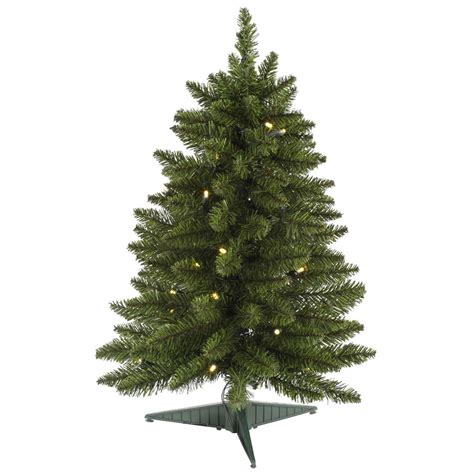 24 inch led battery operated pine christmas tree g140524led