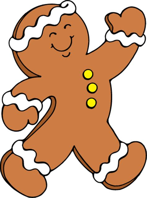 free gingerbread man clip art cliparts co