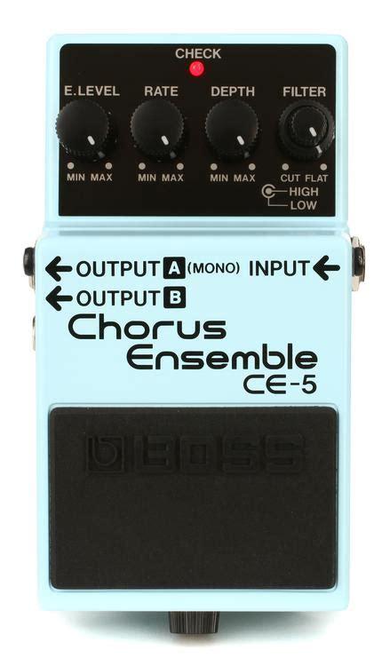 Efek Gitar Ce 5 Stereo Chorus Ensemble Pedal ce 5 stereo chorus ensemble pedal sweetwater