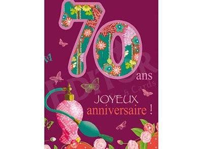 Idée De Carte De Voeux A Faire Soi Meme by Carte Anniversaire Humoristique Gratuite 224 Imprimer 70 Ans