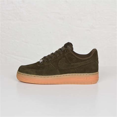Nike Suede 1 nike air 1 07 suede mens loden loden shoes sale originals