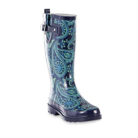 girls light up rain boots girls light up western chief camo rain boots s