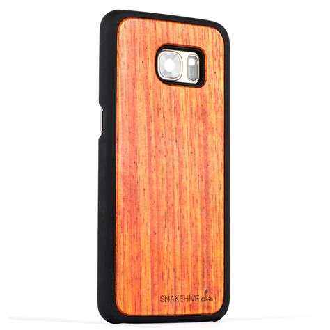 Bamboo Slim For Samsung Galaxy S8 Garuda snakehive 174 samsung galaxy s7 edge wooden real wood grain back cover ebay