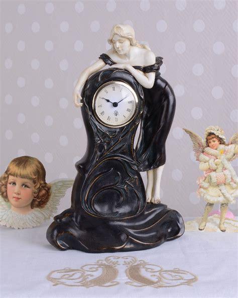 Principles Nouveau Collection by Vintage Table Clock Nouveau Nouveau