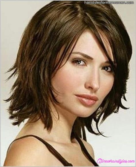 medium length modern bob hairstyle medium length shaggy bob haircuts allnewhairstyles com