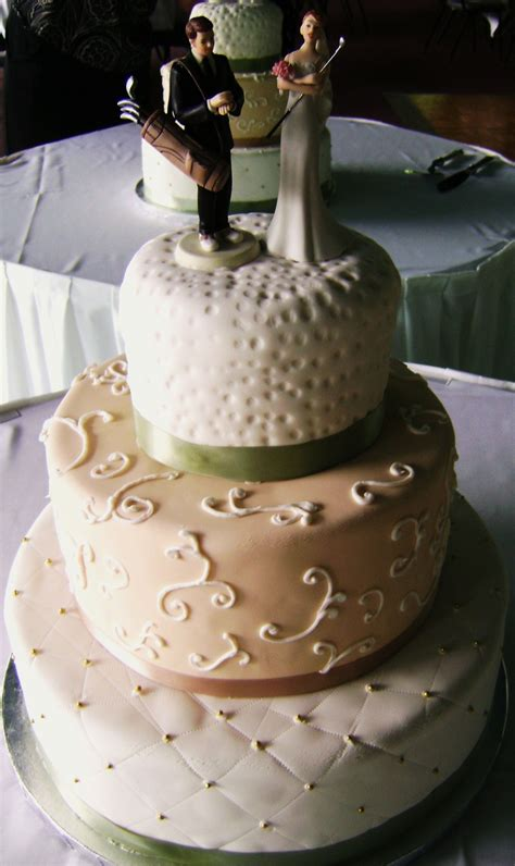 golf themed wedding cake myrtle weddings with golf what