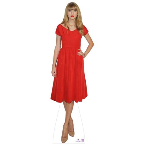 life size taylor swift cut out for sale taylor swift in red dress lifesize cutout 680