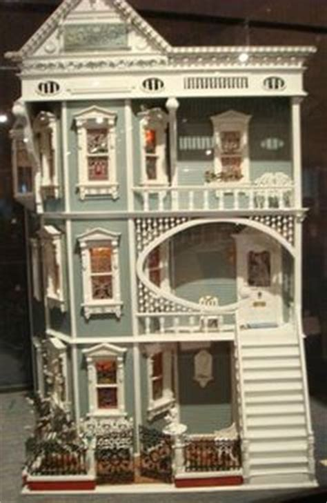 unique doll houses a customized glenwood dollhouse with mansard addition looks awesome dollhouse and