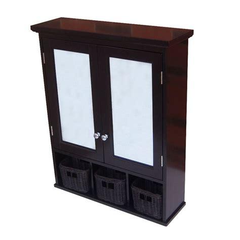 allen roth medicine cabinet cherry shop allen roth 24 3 4 in x 30 1 4 in mdf surface mount