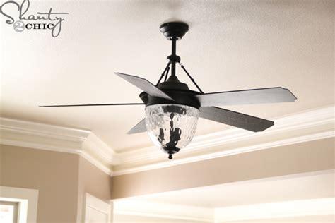 pretty ceiling fan super cute interior lights house update shanty 2 chic