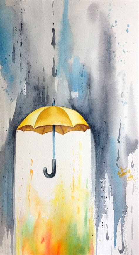 watercolor tattoo umbrella best 25 ideas on