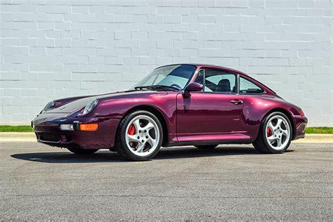 amethyst porsche 1996 porsche c4s color amethyst trissl sports cars