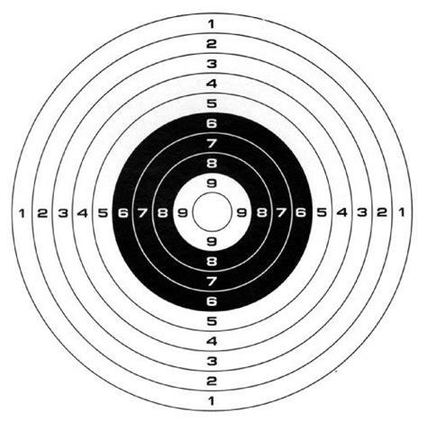 printable paper shooting targets bb gun targets printable gamo paper targets 100 pack 100