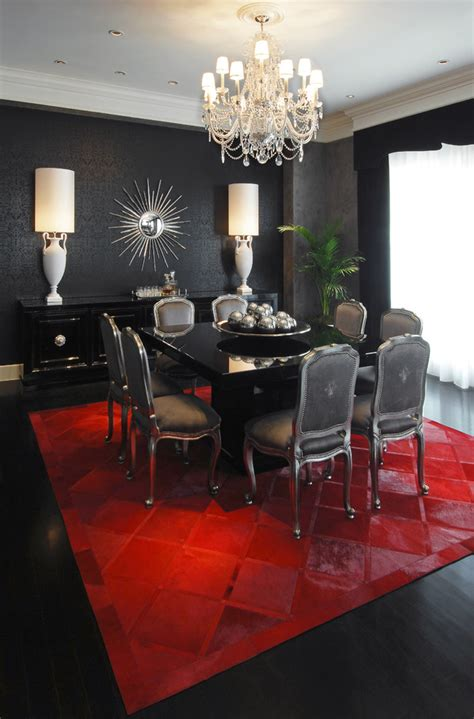 Dining Room With Carpet Italian Lacquer Dining Room Furniture