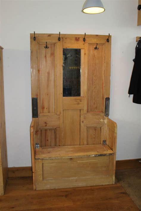 door bench plans rustic pine hall stand coat stand bench storage unit