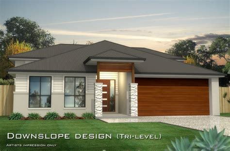 downslope house designs baltimore mk 1 downslope design tri level home design tullipan homes