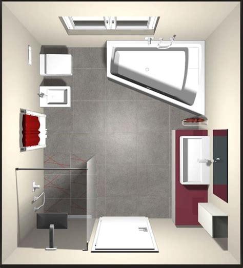 disposizione bagno rettangolare il bagno quadrato innerhofer spa idrotermosanitari