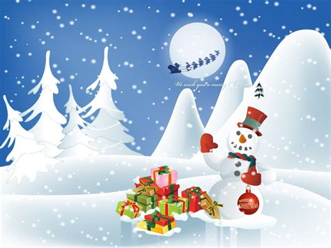 wallpaper christmas season christmas cartoon wallpapers group 78