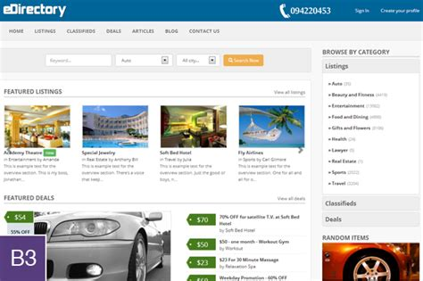 bootstrap themes directory edirectory template bootstrap themes on creative market