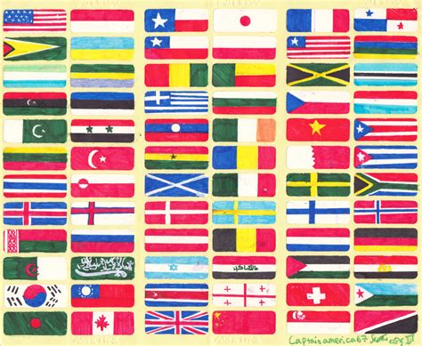 flags of the world library free flags around the world download free clip art free