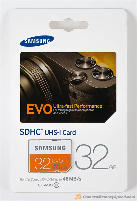 Samsung Microsd Evo 32gb review samsung evo 32gb sdhc memory card 48mb s memory speed comparison performance