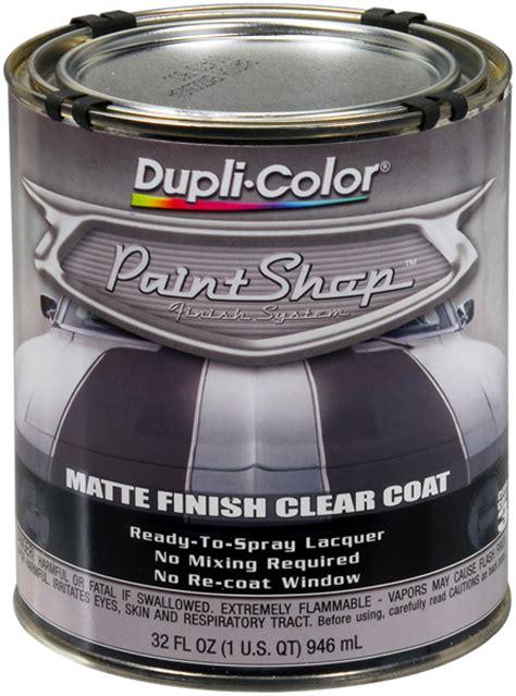 dupli color paint shop dupli color paint shop clear coat matte finish 32 oz