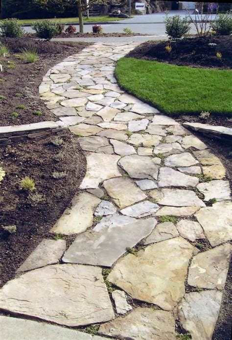Design Ideas For Flagstone Walkways Best 25 Walkways Ideas On Pinterest Walkway Stepping Walkways And Paths