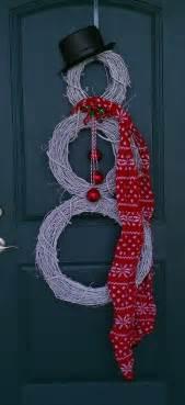 diy door decor 20 creative diy christmas door decoration ideas noted list