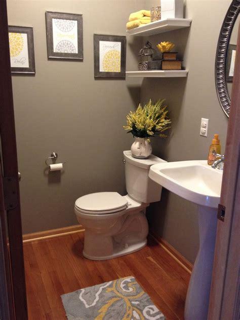 yellow bathroom decor ideas  pinterest